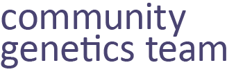Community Genetics Team - Blackburn with Darwen, East Lancs & Oldham